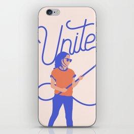 Unite iPhone Skin