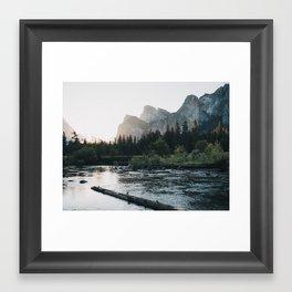 Summer Sunrise in Yosemite Valley II Framed Art Print
