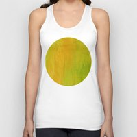 lime Tank Tops featuring Lemon/Lime by Benito Sarnelli