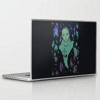 aliens Laptop & iPad Skins featuring Aliens by Tapioles II