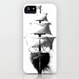 HMS Terror iPhone Case