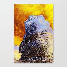 Destroying Canvas Print