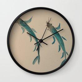 carp harmony Wall Clock