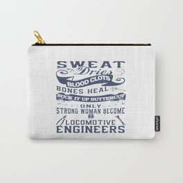 Locomotive Engineer Woman Carry-All Pouch