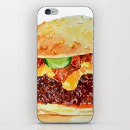 Bacon Double Cheeseburger iPhone Skin