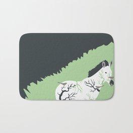 Zebra in the Woods Bath Mat