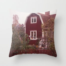 Scandinavian Homes Throw Pillow