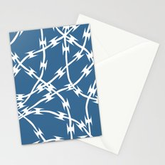 Blue Barb Stationery Cards