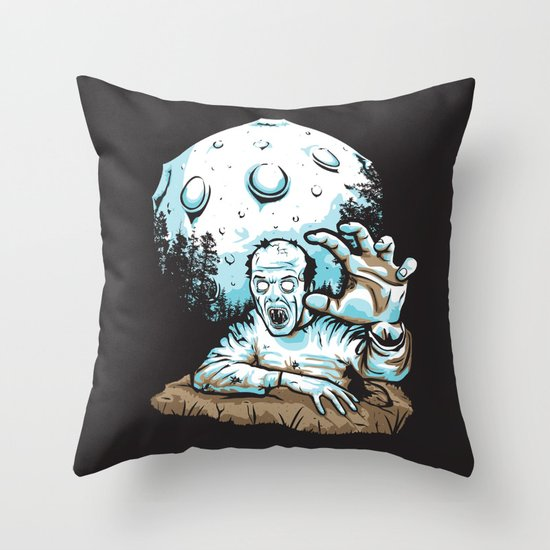 Z! Throw Pillow