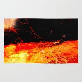 Cosmic scene 02 Rug