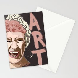 Self Portrate  Stationery Cards