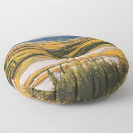 Wood Buffalo National Park Floor Pillow