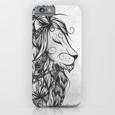 Poetic Lion B&W iPhone 6 Slim Case