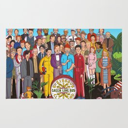 Wes Anderson's Sgt. Pepper Rug