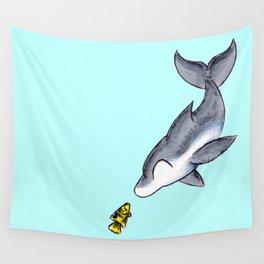 Hello, Fishy! Wall Tapestry