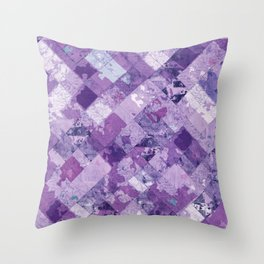Abstract Geometric Background #30 Throw Pillow