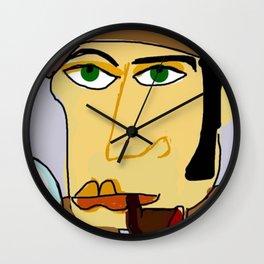 Inspector Clueso Wall Clock