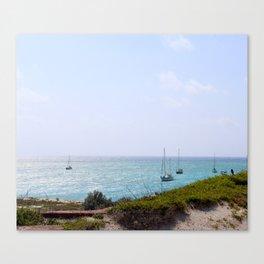 Sun Dance Cove Canvas Print