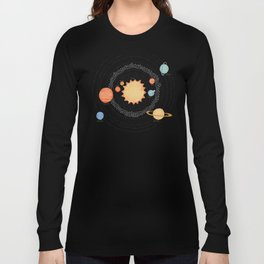 Our Solar System Long Sleeve T-shirt