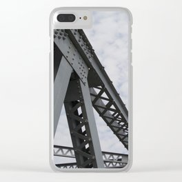 Span in the Sky Clear iPhone Case
