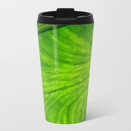 Leaf Paths Metal Travel Mug
