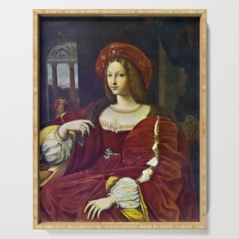 Joanna of Aragon by Raphael Serving Tray