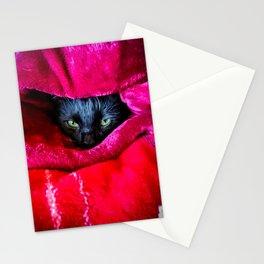 Peek-a-Boo Monty Stationery Cards