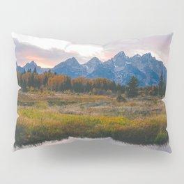 Grand Teton Sunset Pillow Sham