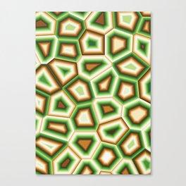 Hypnose verte Canvas Print