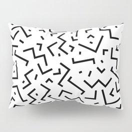 Memphis pattern 30 Pillow Sham
