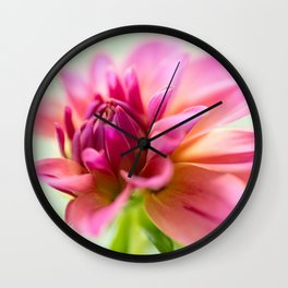 My Blooming Day Wall Clock