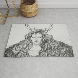 hybrid - deer/human Rug