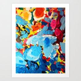 Painters' Splatter Art Print