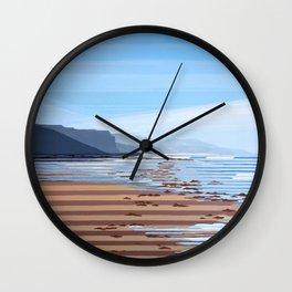 Jalama Beach Landscape Wall Clock