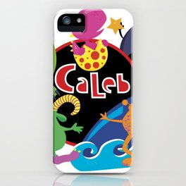 C-Monsta for Caleb iPhone Case