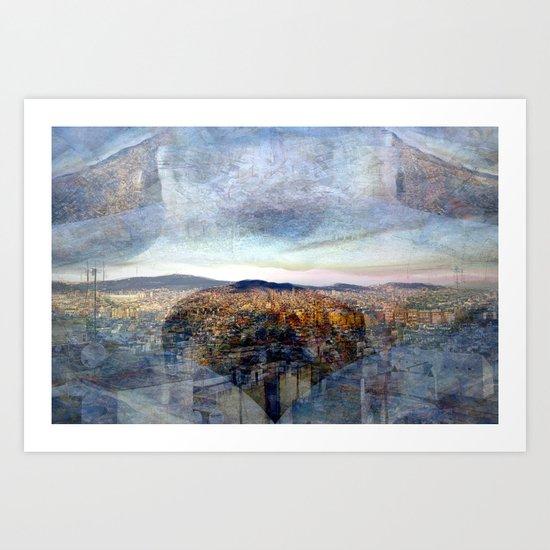 Thursday 31 January 2013: quotient residues surmount technicalities Art Print