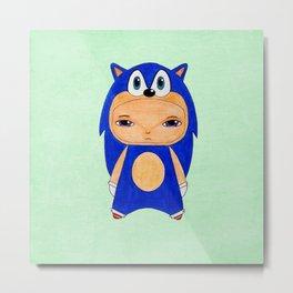 A Boy - Sonic the Hedgehog Metal Print