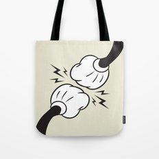 Fist Bump! Tote Bag