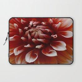 Cognac-Colored Dahlia Laptop Sleeve