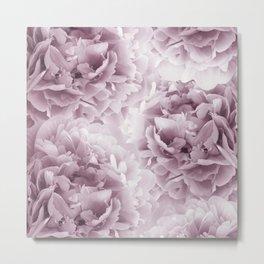 Mauve Peonies Dream #1 #floral #decor #art #society6 Metal Print