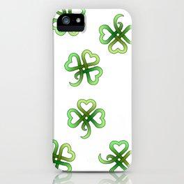 Celtic Clover iPhone Case