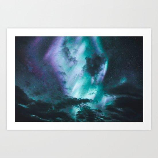 Aurora Borealis XX Art Print