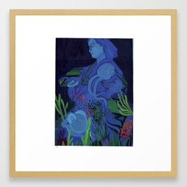 Jeanne Villepreux-Power, Mother of Aquariums Framed Art Print