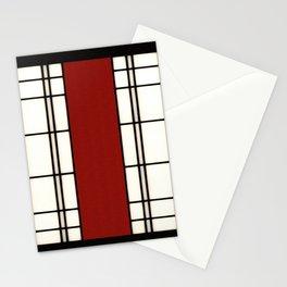 Shoji - red Stationery Cards