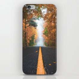 Road sweet road iPhone Skin