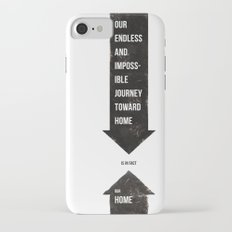 Endless Journey Home iPhone 7 Slim Case