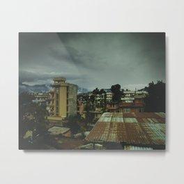 Kathmandu City Roof Top 003 Metal Print
