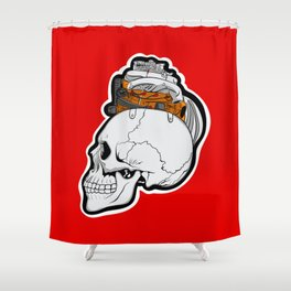 Petrol Head Shower Curtain
