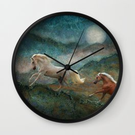 Celestial Spirits Wall Clock