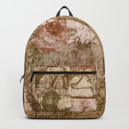 Vintage & Shabby Chic - Victorian ladies pattern Backpack